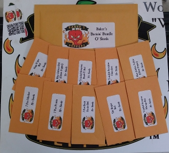 Baker's Burnin' Bundle O Seeds! 2015